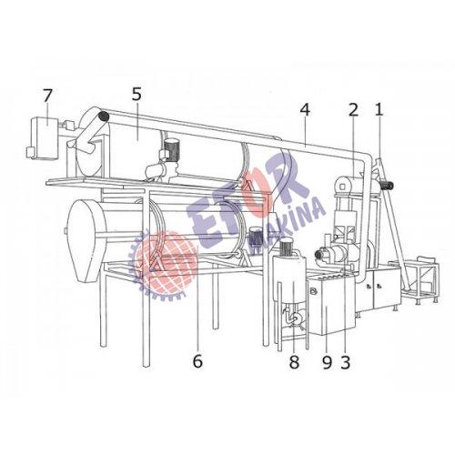 رقائق الذرة آلة خط الانتاج - 2